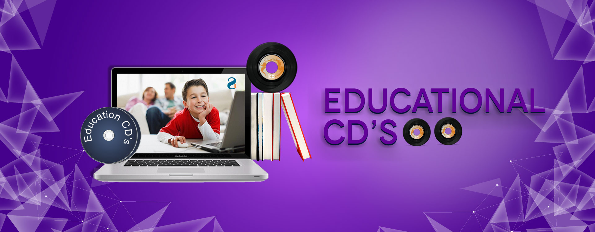 Educational cd's